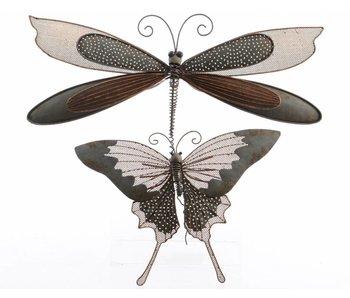 Insecte en fer - libellule