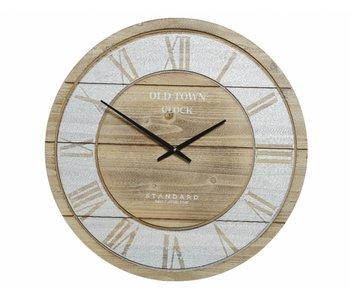 Horloge mdf old town dia 68x4.5