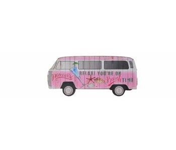 mdf zomerbusje roze 0.9x40x18