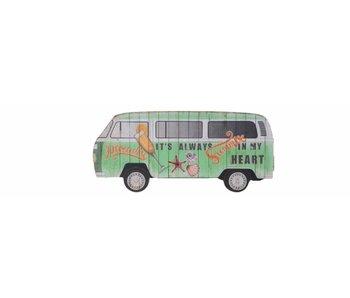 mdf zomerbusje groen 0.9x40x18