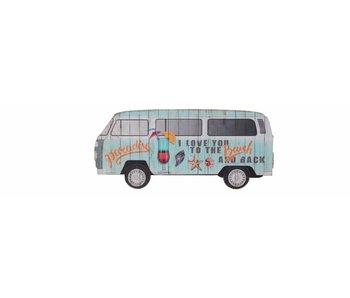 mdf zomerbusje blauw 0.9x40x18