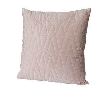 kussen roze fluweel 45x45
