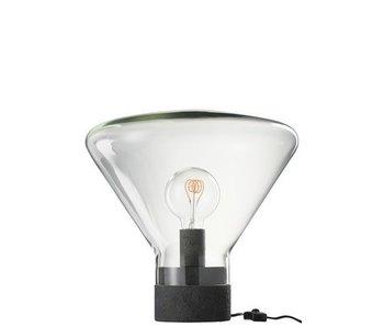 J-Line tafellamp in glas