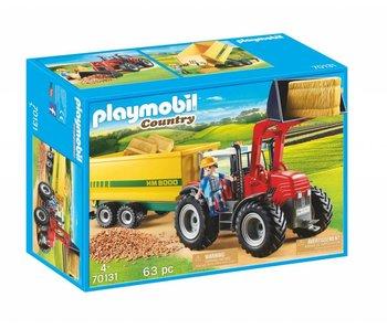 Playmobil Grote tractor met aanhangwagen 70131