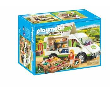 Playmobil Camion de marché 70134