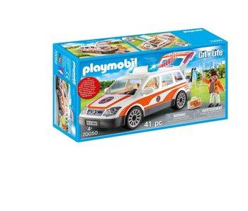 Playmobil Voiture et ambulenciers 70050
