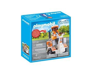 Playmobil Secouriste et gyropode 70052