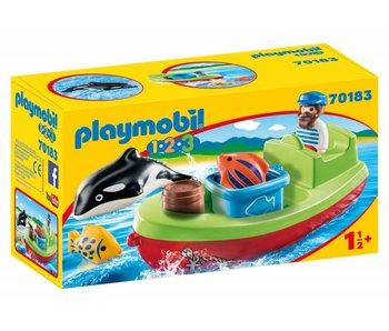 Playmobil Bateau et pêcheur 70183