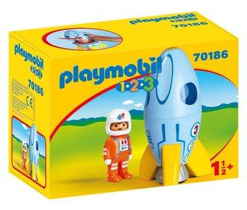 Playmobil Astronaut met raket 70186