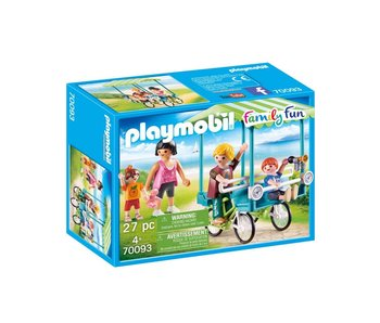 Playmobil Familiefiets 70093
