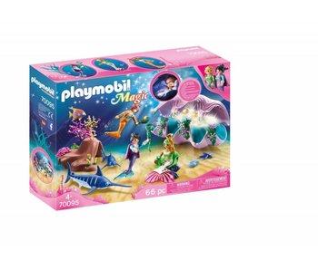 Playmobil Nachtlamp in schelp met meerminnen 70095