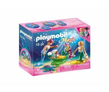Playmobil Famille de sirènes 70100