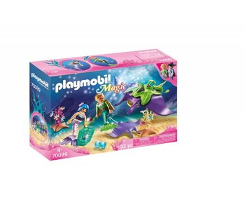 Playmobil Parelvissers met roggen 70099