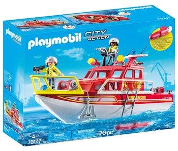 Playmobil City action bateau à feu 70147
