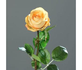 Fleur aritificielle | Rose jaune