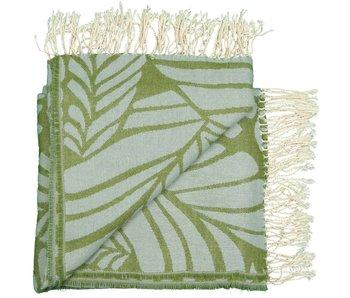 Fiore Plaid groen 130x160