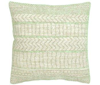 Sierkussen Lauren groen 45x45