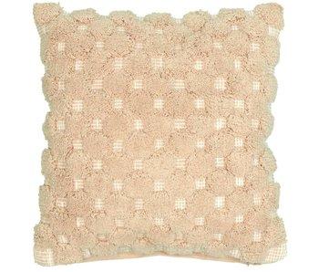 sierkussen Romy pink dust 45x45