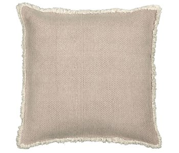 coussin Timo beige 45x45