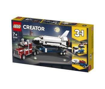 LEGO Creator Spaceshuttle transport 31091