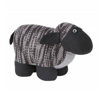 Hamilton Living Arrêt de porte mouton Polly - gris foncé
