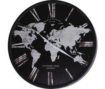 Horloge global 57 cm