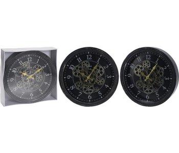 Horloge avec mécanique rotative