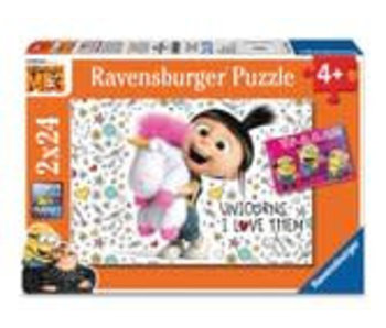 Ravensburger Agnes en de Minions 2x24 stukjes