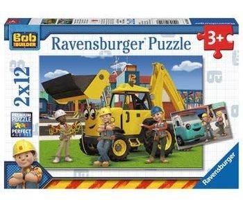 Ravensburger Bob en zijn team 2x12 stukjes