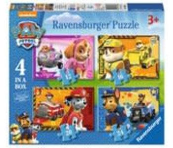 RAVENSBURGER 12+16+20+24PCS 070336