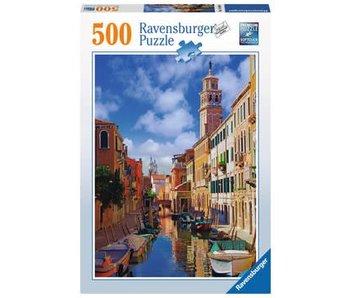 Puzzel in Venetië- legpuzzel - 500 stukjes