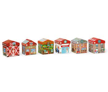 Scratch Preschool boîte à jouets maison 2-en-1 (2+)