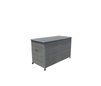 Box à  coussins Stallo gris  ( 100x167x77cm )