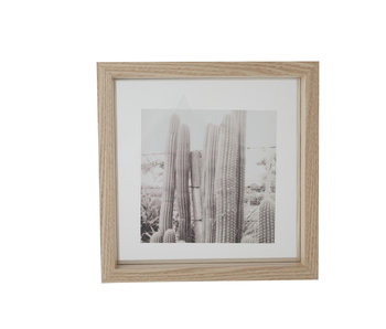 fotokader natuur hout 23.5x4x23.5h