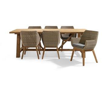 Garda-Varse table 250 cm