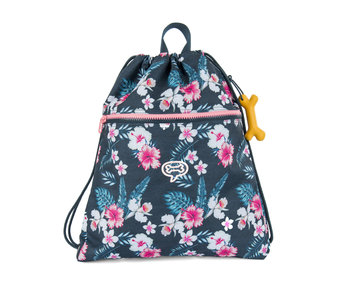Hazel 2.0 - FLOWERS navy