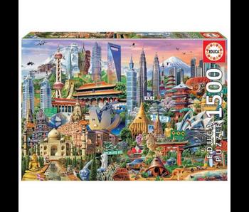 educa 1500 Gratte-ciels d'Asie