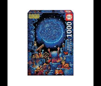 Educa Puzzel De astroloog Neon - 1000 stukjes