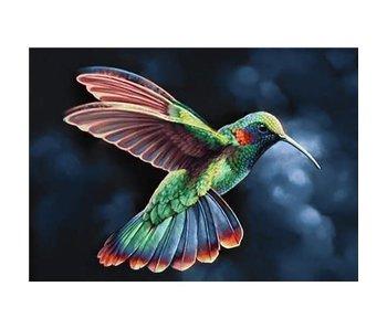 Peinture Dia WD058 - Oiseau Tropic 38x27 cm
