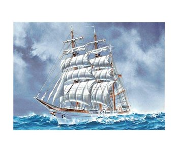 Wizardi Dia paint WD226 - Sailing ship 38x27 cm