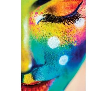 Wizardi Dia paint WD149 - Festival of Colours 27x38 cm