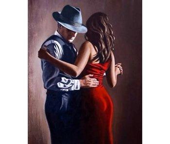 Wizardi Dia paint WD2318 - Rumba 38x48 cm