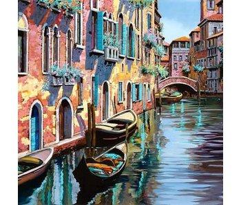 Wizardi Dia paint WD315 - Venice 40x40cm