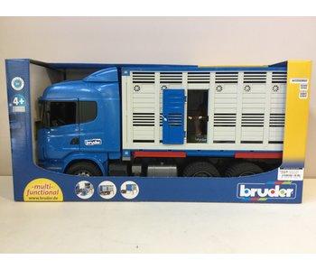 Bruder Scania R catle transportation