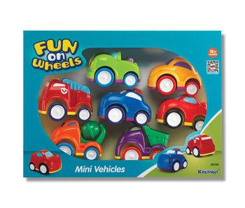 Mini voertuigen - 7 stuks