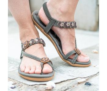 Sandaal Sanne 38/grijs