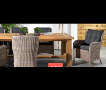 Table Java en teck 250 cm