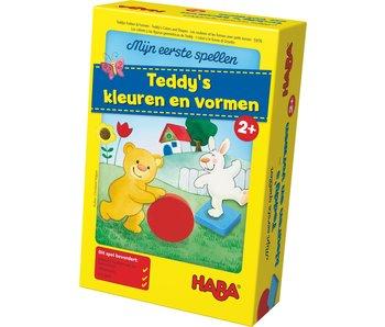 Haba Teddy's kleuren en vormen 2+