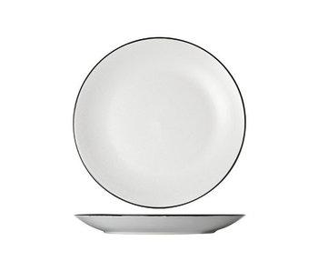 SPECKLE WHITE PLAT BORD 27 cm