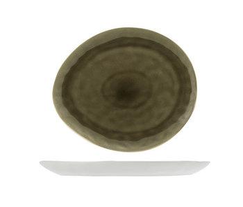 Assiette olive ovale Spirit 15x11 cm